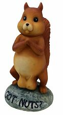 New - BigMouth Inc - Got Nuts Garden Statue - Free Shipping