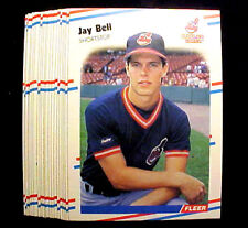 JAY BELL  ~ 1988 Fleer #602 (RC)  ~ LOT OF 20 CARDS = Only 20c per card ~ ROOKIE