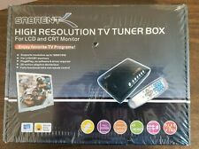 NEW Sabrent High Resolution TV Tuner Box for LCD and CRT Monitor with Remote