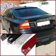Painted B Type PU Roof Spoiler For 10-13 VOLVO S80 Sedan Rear Window Add On Boot