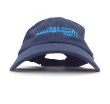Vineyard And Winery Management Magazine Navy Blue Baseball Cap Hat Adj Adult Sz