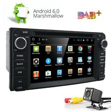 Android 6.0 3G WIfi GPS Navi Stereo Car DVD Radio Player Free Camera For Toyota