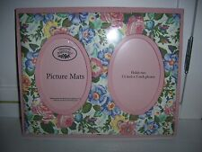Laura Ashley Double Picture Mats FRAME Shabby French Paris Chic Cottage Country