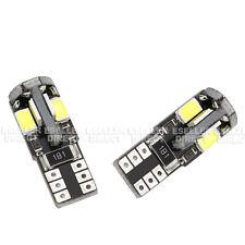 2 x Error Free 8 SMD LED Sidelight Bulbs 6000K 501 W5W T10 - Vauxhall Corsa B C