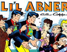 "Li'l Abner Vol 6-1989-Strip Reprints Hard Cover ""Dailies 1940   """
