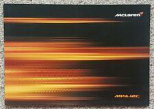 McLaren MP4 12C Sales Brochure - 2012
