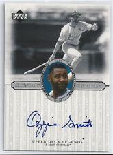 2000 Upper Deck Legends Legendary Signatures—Ozzie Smith, St. Louis Cardinals