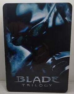 Blade Trilogy, TIN STEELBOOK BOX Set DVD 1, 2 & 3 Collection free post