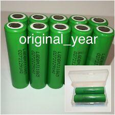 10 LG 18650 MJ1 3500mAh Li-Ion 10A High Drain Rechargeable Battery LGDBMJ118650