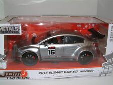 1/24 2016 Subaru Wrx Sti JDM Sintonizador Widebody, Plata, Jada,