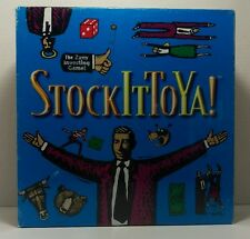 Stock It To Ya! Boardgame New Sealed