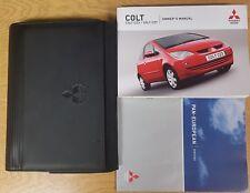 MITSUBISHI COLT / CZ3 / CXT  HANDBOOK OWNERS MANUAL 2004-2008 WALLET PACK E-426