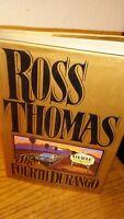 "Ross Thomas Signed Book! ""The Fourth Durango"""