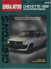 Chevrolet Chevette 1000, 1976-88 by Chilton repair manual 28400