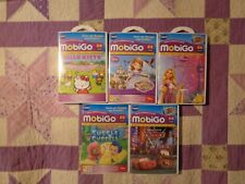 Vtech MobiGo   Game Lot of 5 Games-Hello Kitty Sofia-Tangled Cars Tangled Cars