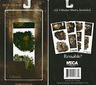Twilight New Moon Sticker Pack Reusable Breaking Dawn Edward Bella JACOB BLACK