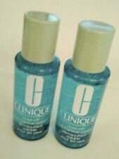 2 Clinique Rinse Off Eye Makeup Solvent  2 x 2 oz 4 Total New