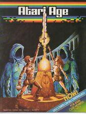 Atari Age Magazine Vol. 1 # 3 - SwordQuest, retro gaming, 2600, arcade