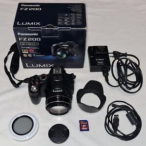 Panasonic Lumix FZ200 appareil photo numérique, 24X, F 2.8