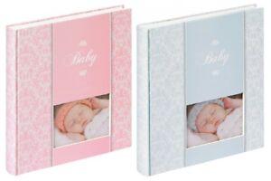 Walther Babyalbum Mädchen oder Junge Album Fotoalbum Babyfotoalbum Geschenk NEU