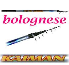 bolognese mt 5 canna da pesca a mulinello pesca trota lago carpa mare fiume cava