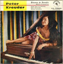 "PETER KREUDER ""BIRDS OF PARADISE"" 50'S EP PALETTE 90003 PIN UP !"