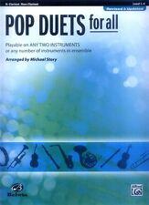 Pop Duets for All Klarinette Clarinet Bb Noten