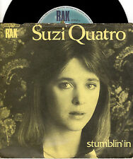 SUZY QUATRO stumblin' in / a stranger with you 45RPM 1979 ITALY Glam Rock