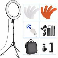 """18-inch Ring Lights with Stand, Camera Photo Video 18""""/ 48cm Outer 55W"""