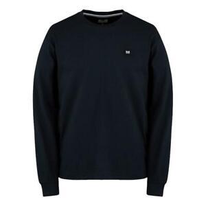Weekend Offender Nuovo da Uomo Salto T-Shirt - Navy Nuovo con Etichetta