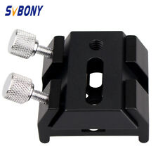 New Small Dovetail Plate+Multi-Function Dovetail Slots For Telescope Finderscope