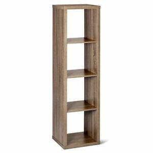 Threshold 4-cube Vertical Organizer Storage Bookcase Bookshelf Cube Storage