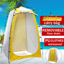 Portable Outdoor Shower Toilet  Fitting Room Privacy Shelter Beach Camping Tent