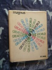 Vintage Book *Magnus Great Music Of The World * 1972 Annual *Wide Variety Songs
