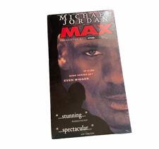"New Sealed Michael Jordan ""To The Max"" VHS Movie Chicago Bulls NBA Basketball"