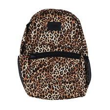 Victoria's Secret Pink Campus Backpack Animal Print Leopard Cheetah Cute