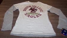 WOMEN'S TEEN VINTAGE STYLE BOSTON COLLEGE Eagles T-SHIRT LARGE NEW w/ TAG