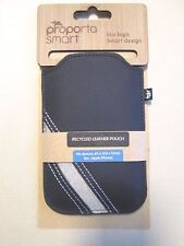 Proporta Smart Recycled Leather Pouch Case Cover universal Apple iPhone 3G 4G 4S
