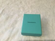 """Tiffany & co  Blue Gift packaging  Empty Jewelry Box 3"""" x 4"""" fast ship"""