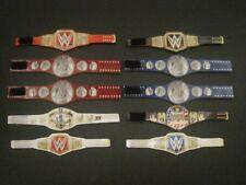 10 Custom Wrestling Figure Belts WWE WWF NXT(Action figure not included)