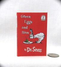 GREEN EGGS AND HAM Book in 1:3 Scale Readable Book American Girl Dr. Seuss Book