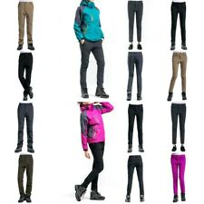 Men Women Winter Warm Outdoor Hiking Pants Thickened Padded Windproof Trousers