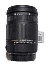 Sigma AF 18-250mm f3.5-6.3 DC OS HSM Macro Lens Canon EF