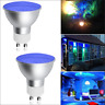 GU10 MR16 Spotlight LED Bulb Lamps 5W LED Spotlight Lamp Light 2 Pack Blue