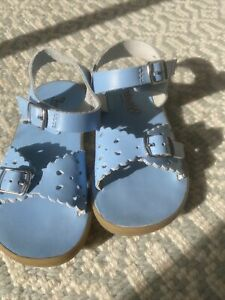 Footmates Blue Sandals Toddler Girl Size 8
