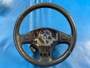 Rover 45 Black Leather Steering Wheel (Part #: QTB001510PPA XH)