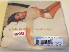 JENNIFER LOPEZ IF YOU HAD MY LOVE 5 TRACK NEW SEALED IMPORT CD FREE SHIPPING
