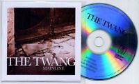 THE TWANG Mainline UK 3-trk promo test CD radio edit / album / instrumental