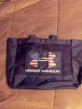 Under Armour Patriotic Red White Blue Design Blue Mesh Large Tote Sports Bag