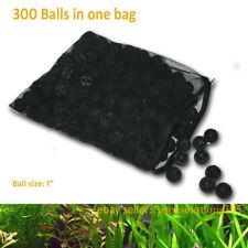"300 1"" Bio Balls w/ Sponge Filter Media 4 Aquarium Fountain Koi Fish Pond Reef"
